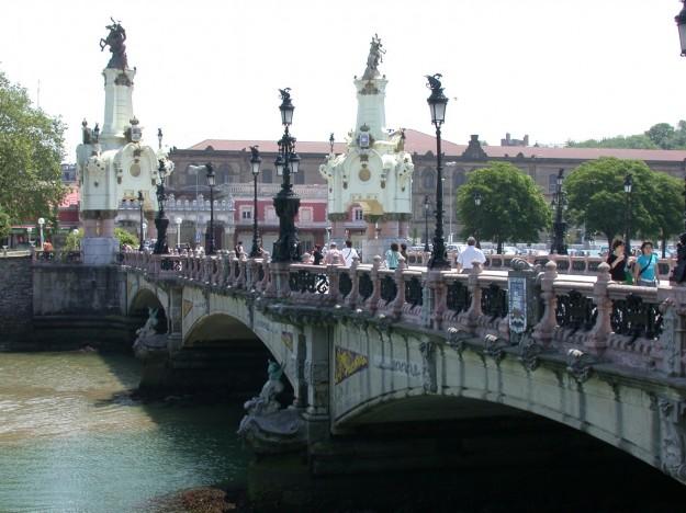 puente maria cristina a san sebastian