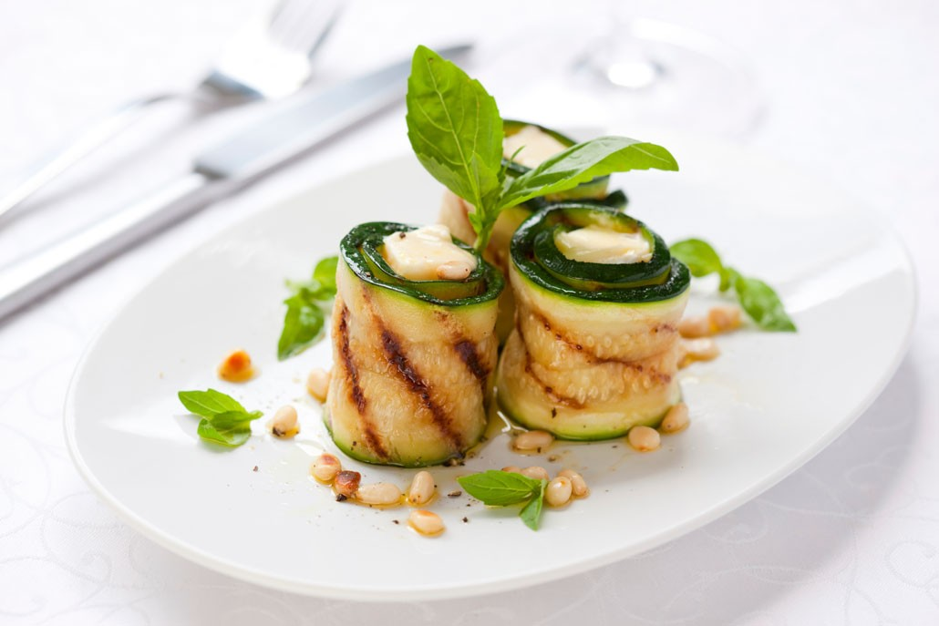Rotoli di zucchine, ricetta light