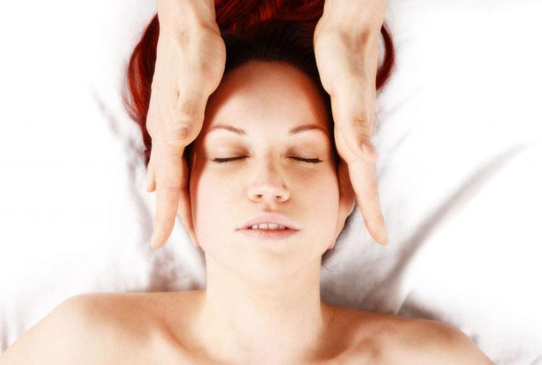 viso massaggio