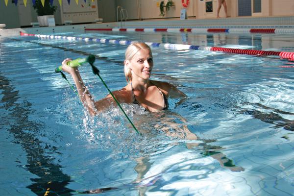 Acqua Gymstik in piscina