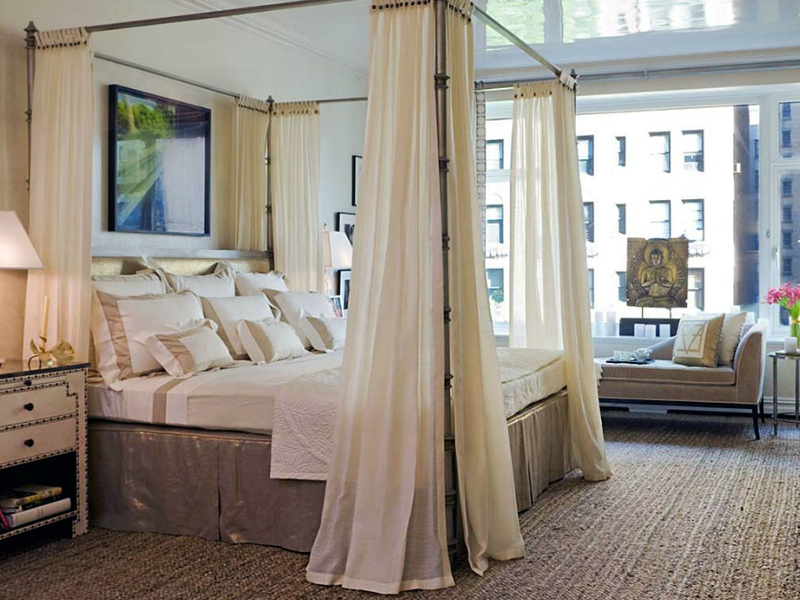 Camera da letto romanticaa