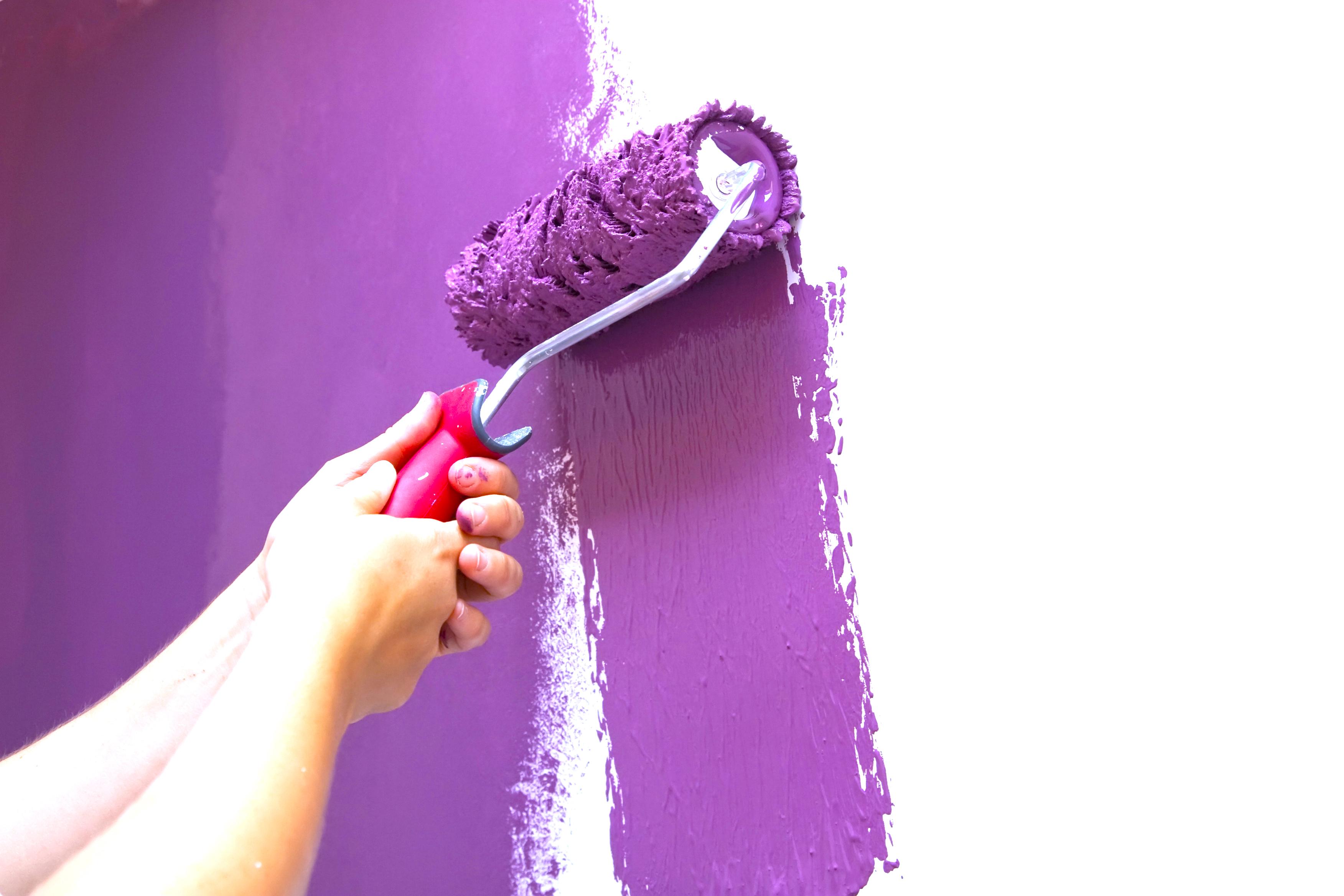 Come dipingere con il rullo