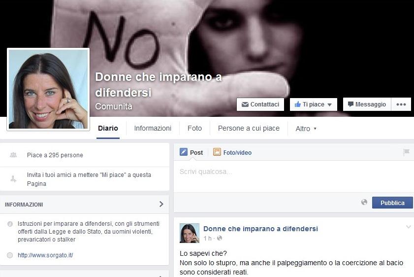 Donne che imparano a difendersi, una pagina Facebook contro la violenza sulle