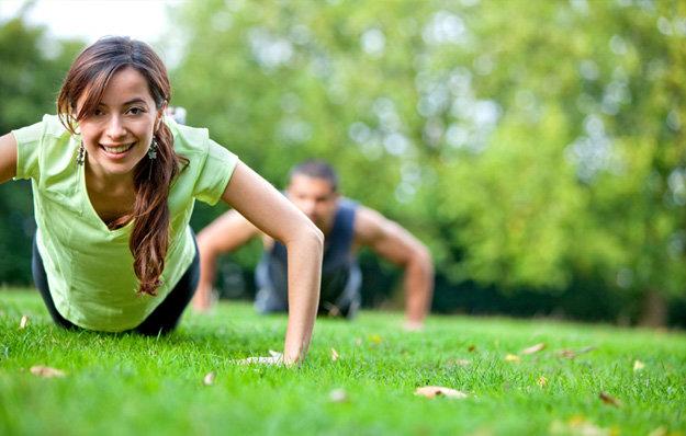 Fitness all'aria aperta, benefici