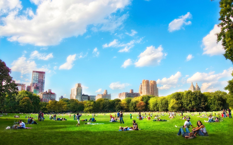I parchi urbani belli