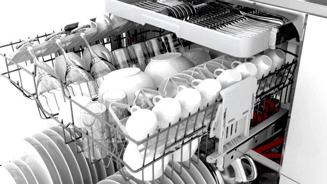 Igienizzare lavastoviglie