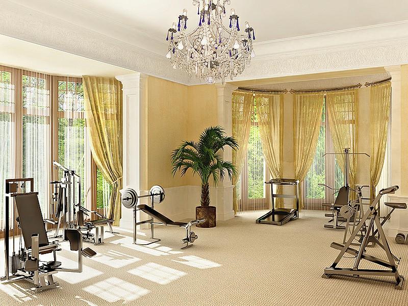 Stanza per home fitness