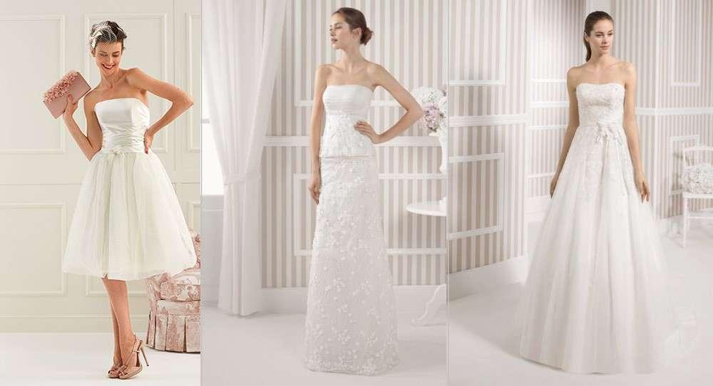 e0978c38c857 Abiti da sposa semplici ed eleganti per uno stile minimal  FOTO ...