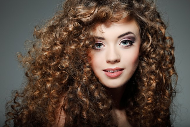 capelli ricci spuma