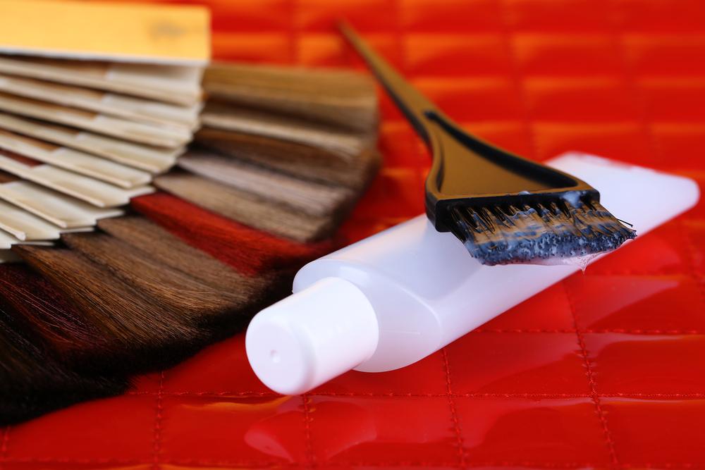 colori capelli in casa