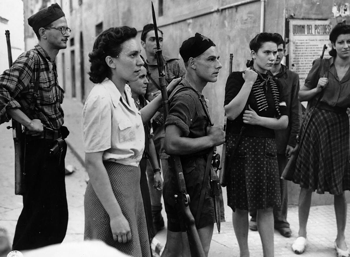 Donne partigiane durante la seconda guerra mondialele