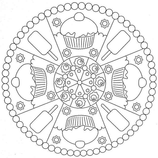 Mandala Per Bambini Da Stampare E Colorare Foto Pourfemme