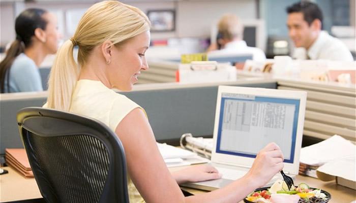Dieta per chi lavora in ufficio