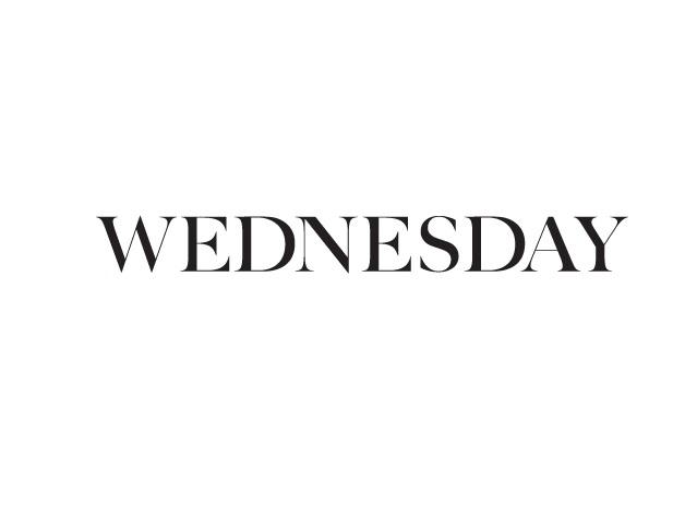 Il mercoledì