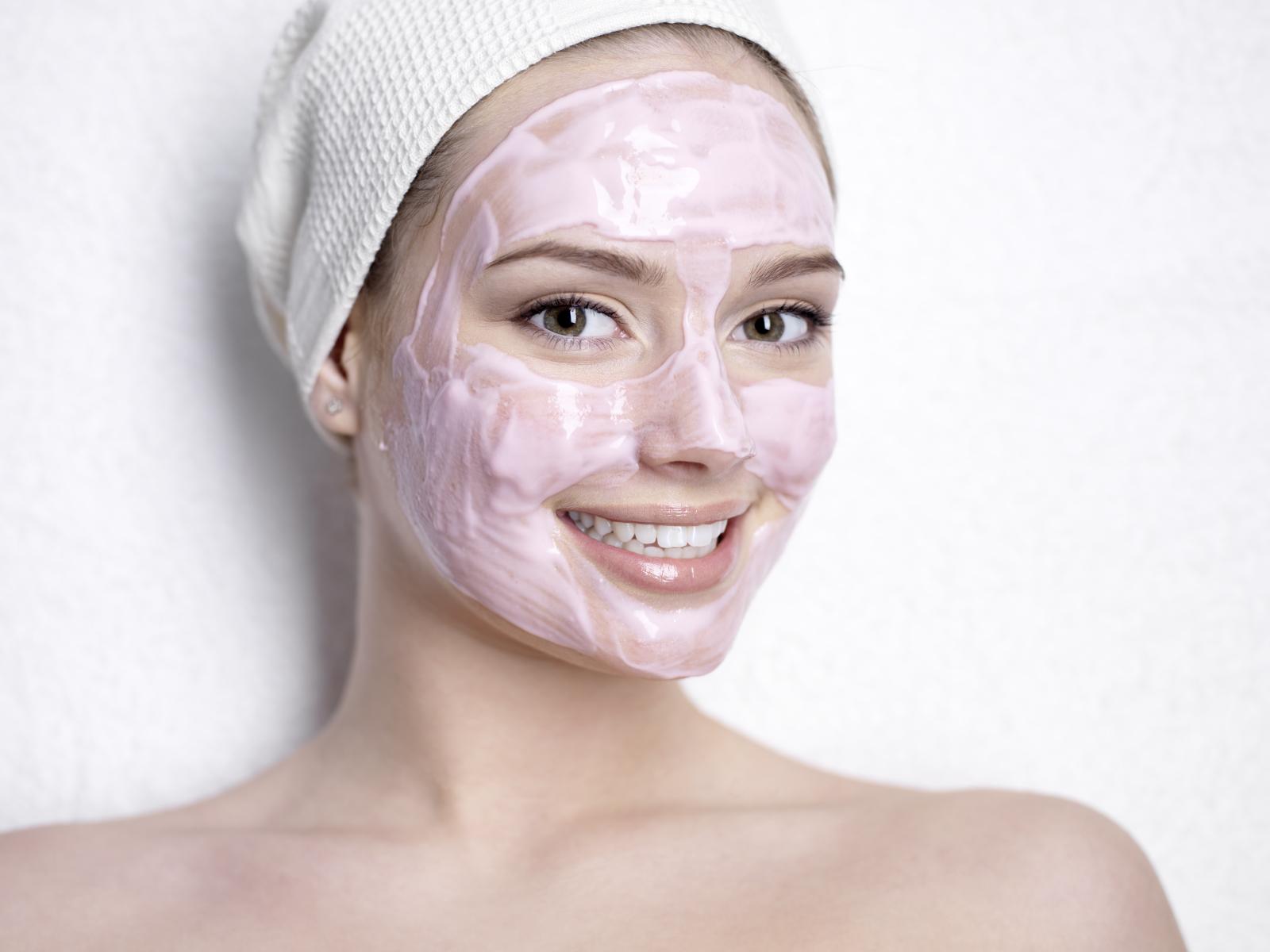 Maschera viso antirughe