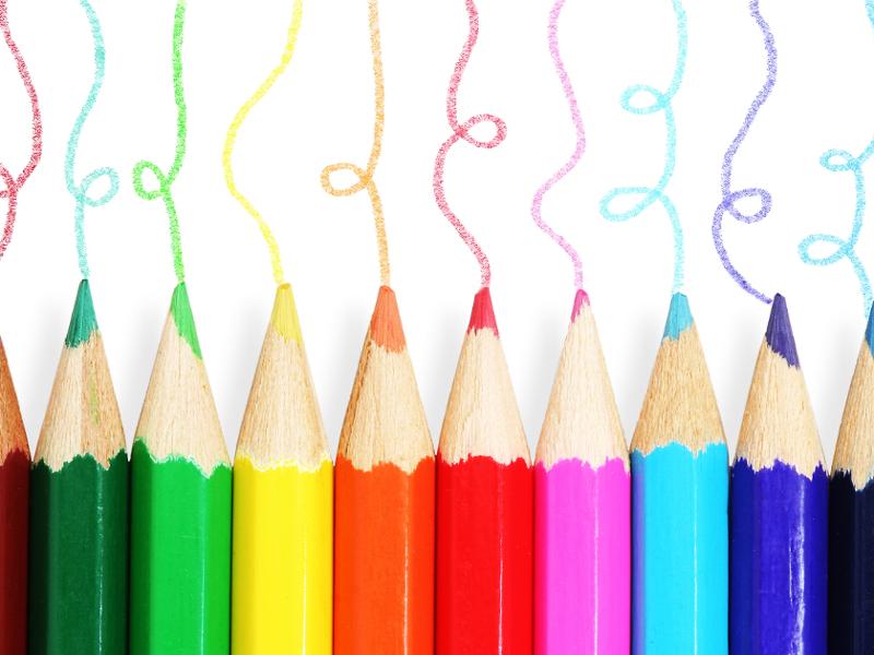 matite colorate  7 idee per riciclare le matite colorate | Pourfemme