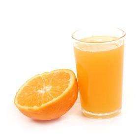 Pranzo della dieta delle arance