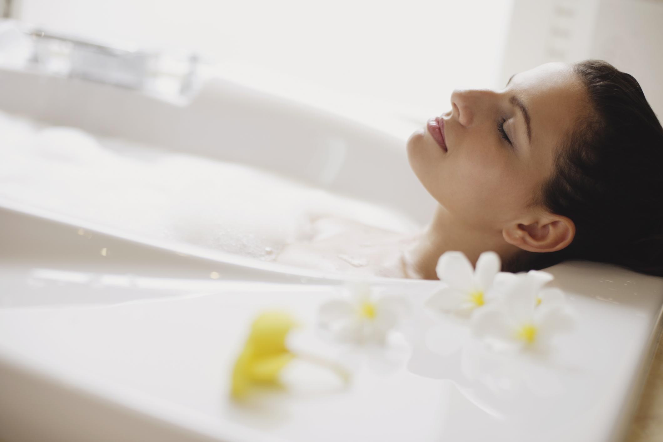 Relax nella vasca