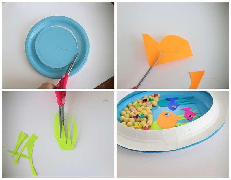Lavoretti con piatti di plastica per bambini: tante idee fai da te [FOTO]