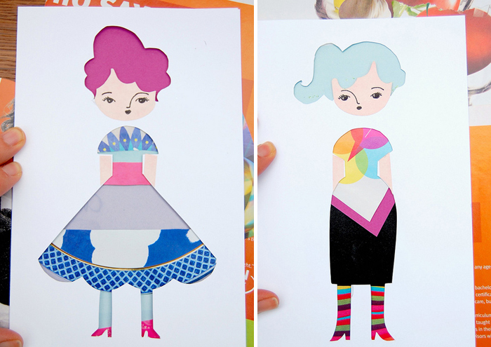bambole-di-carta