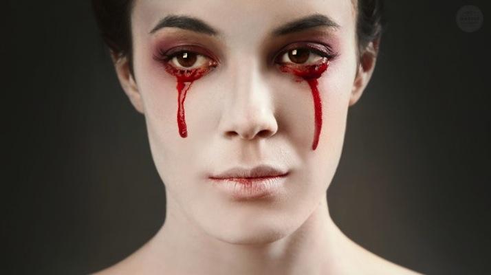 effetto sangue halloween