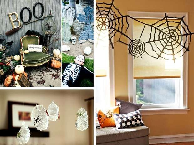 Lavoretti di Halloween: le ragnatele fai da te per decorare la casa [FOTO]