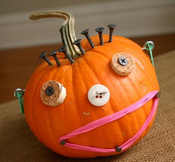 lavoretti-halloween-per-bambini-zucca-decorata