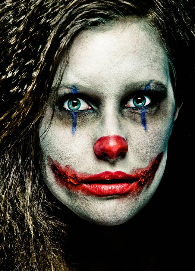 make up joker halloween