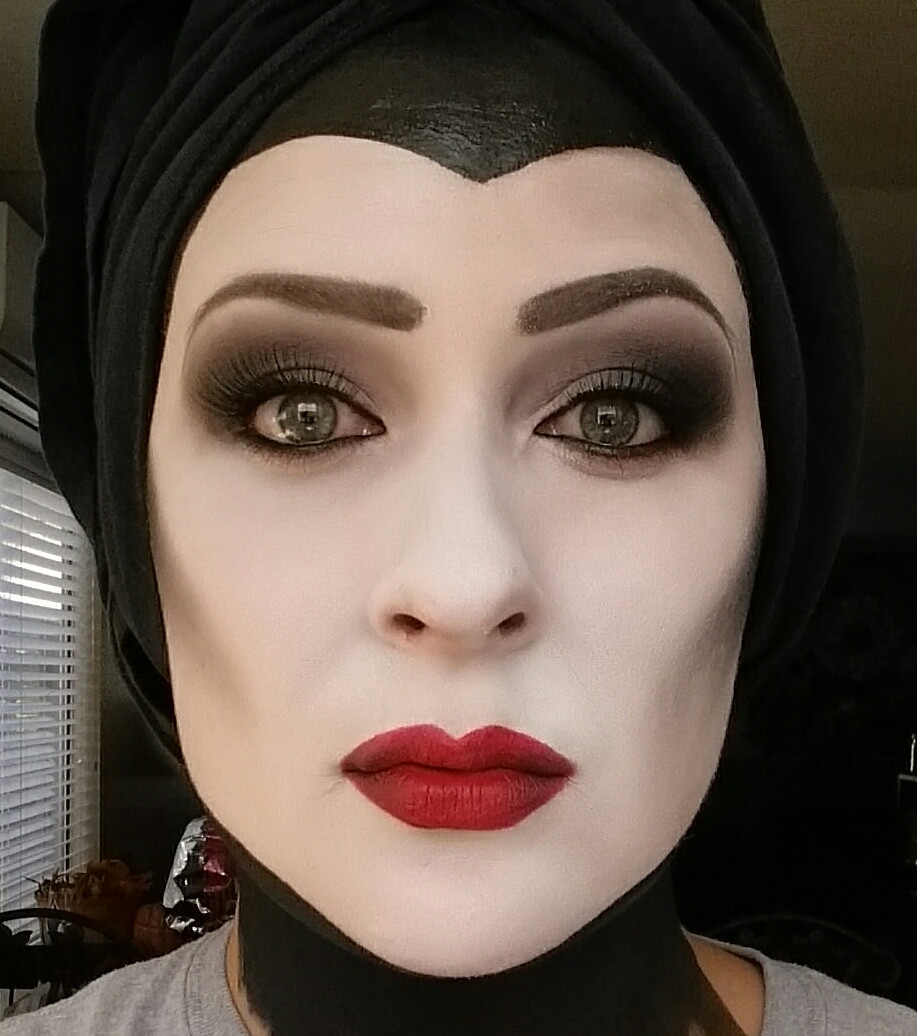 make up maleficent