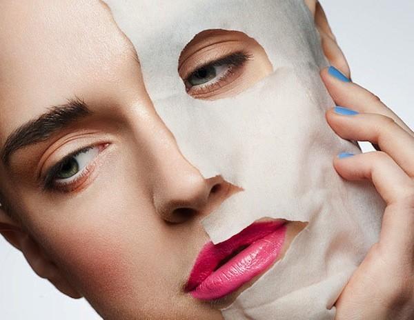 maschera tessuto lenitiva