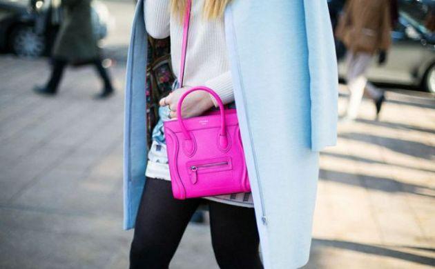 pink celine bag