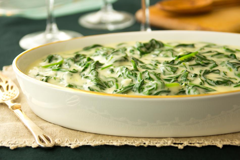 Spinaci al formaggio, ricetta light