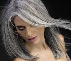 Capelli bianchi e grigi
