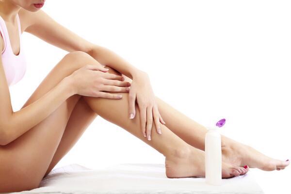 Crema idratante sulle gambe k