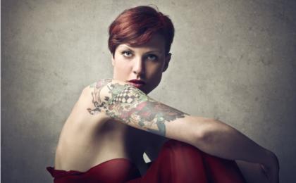 Tatuaggi: dimmi dove ti tatui e ti dirò chi sei