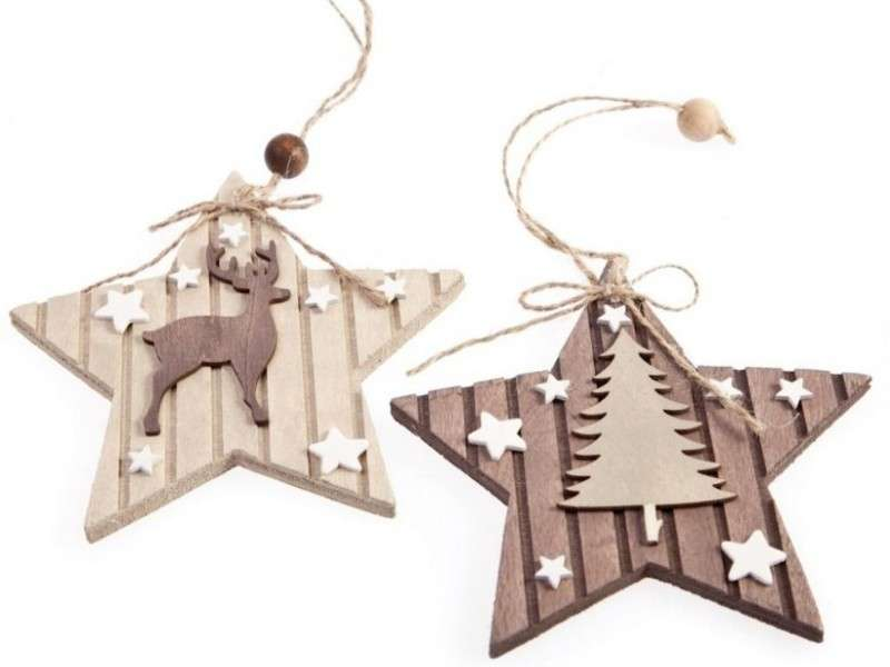 Decorazioni natalizie in legno: le idee più belle [FOTO]
