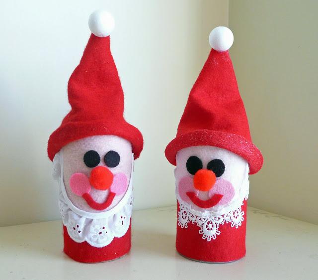 Babbo Natale Lavoretti.Lavoretti Di Babbo Natale Per Bambini Tante Idee Fai Da Te Foto