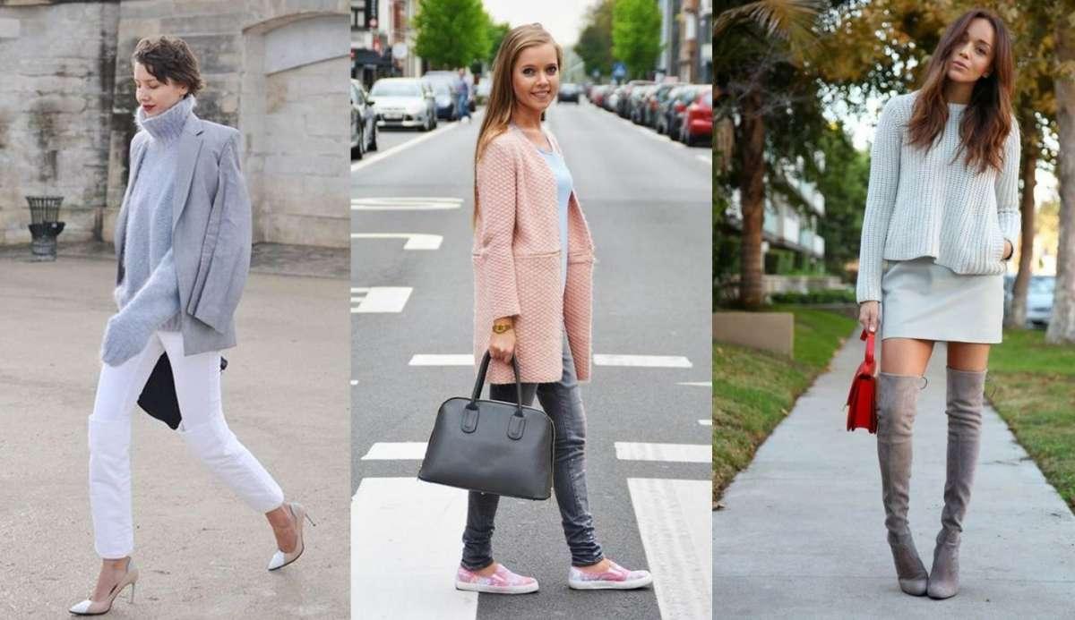 Come indossare il grigio: consigli per realizzare look fashion [FOTO]