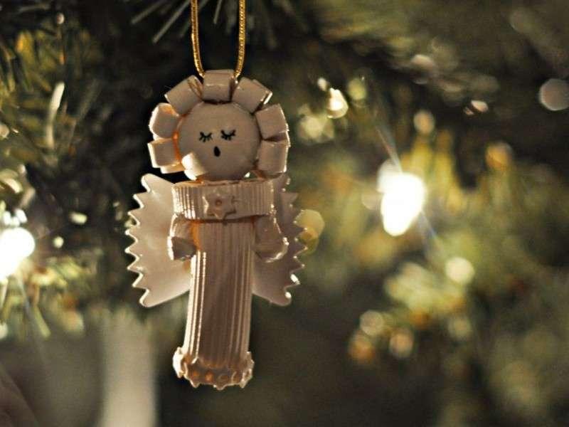 Decorazioni natalizie con la pasta: tante idee originali [FOTO]