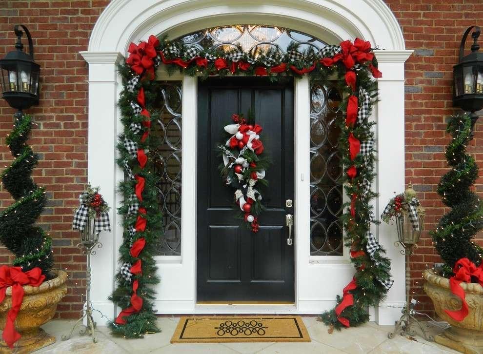 Decorazioni Luminose Natalizie Per Esterni : Ghirlanda natalizia per esterni campobassopellicce