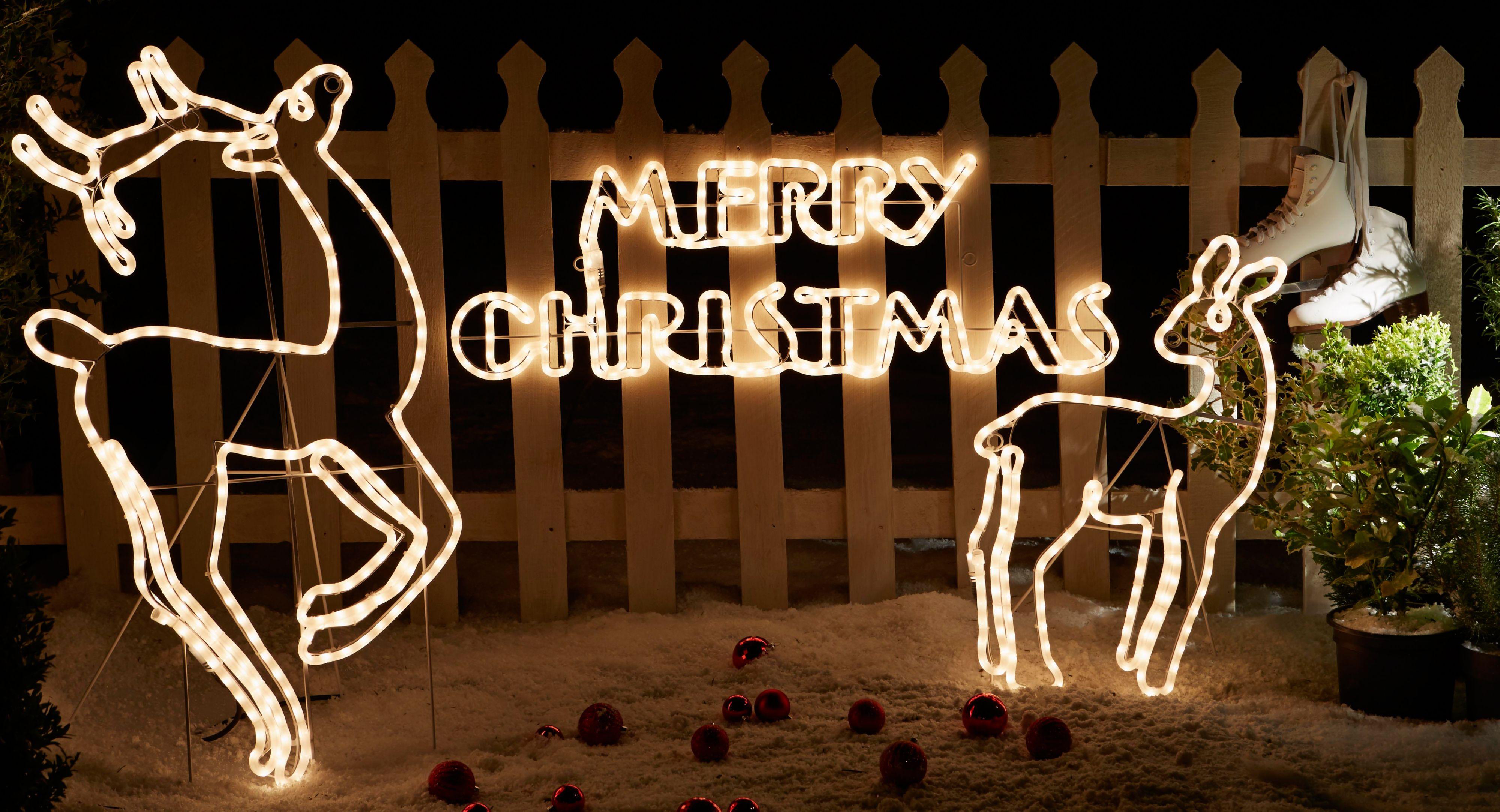 decorazioni natalizie 3D da esterno