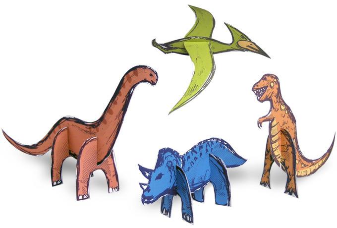 dinosauri-tridimensionali