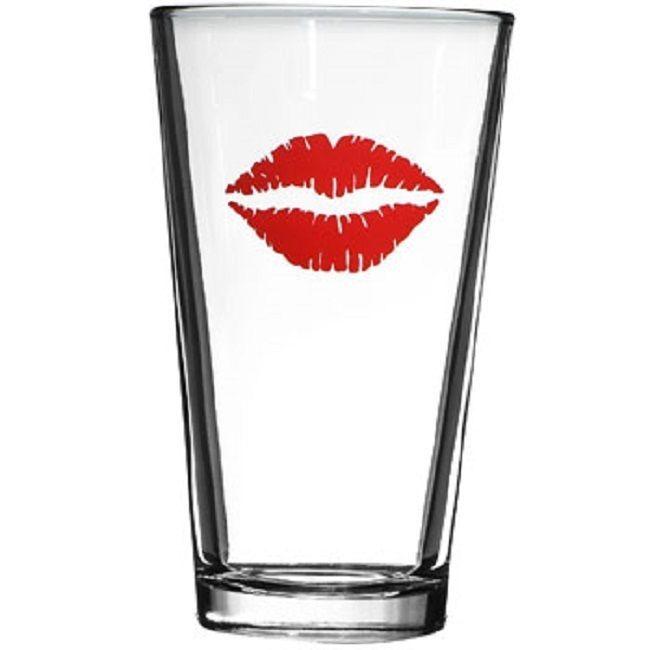 impronta sul bicchiere