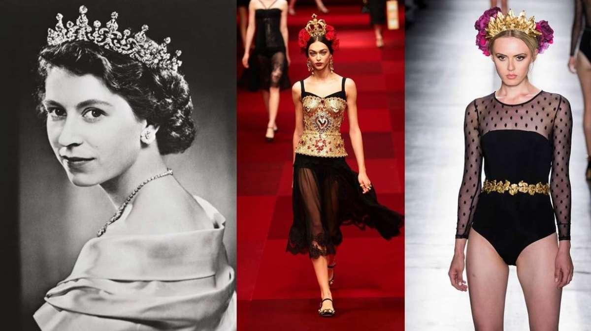 La corona, da simbolo del potere ad accessorio fashion in passerella [FOTO]