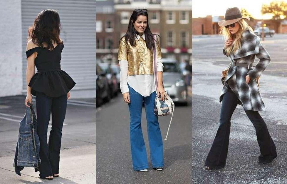 Come indossare i jeans a zampa: consigli per gli abbinamenti [FOTO]