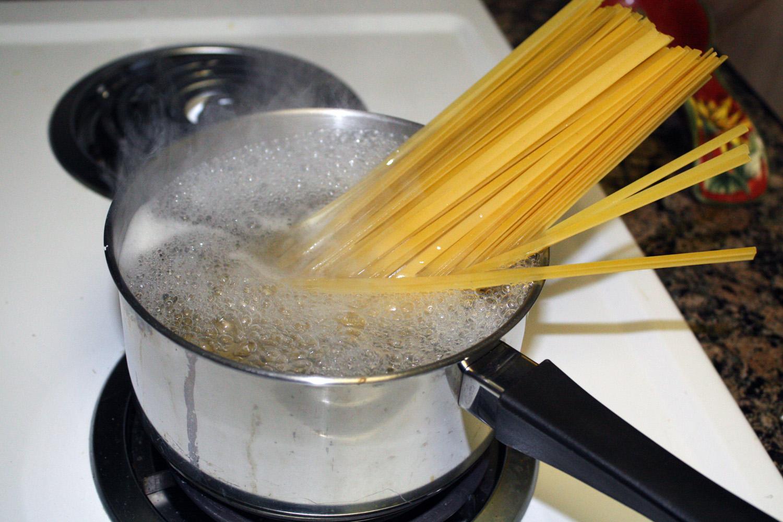 pasta che bolle