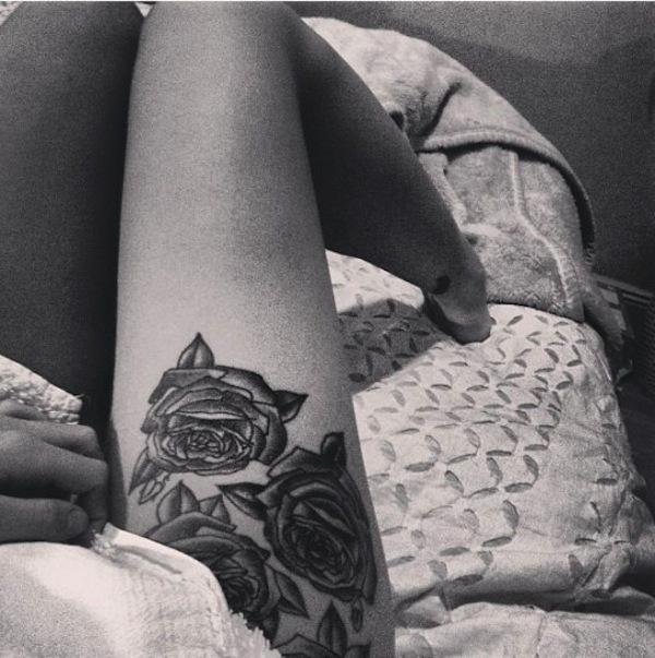 tatuaggio gambe