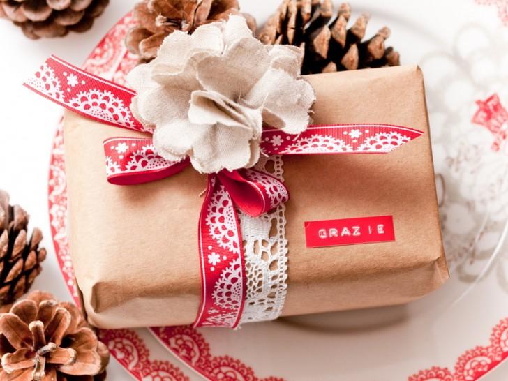 10 idee per pacchetti regalo natale fai da te originali