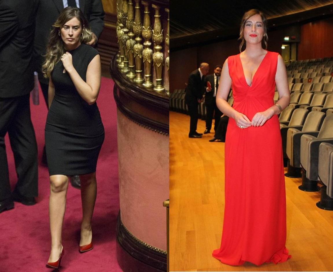 I look eleganti di Maria Elena Boschi