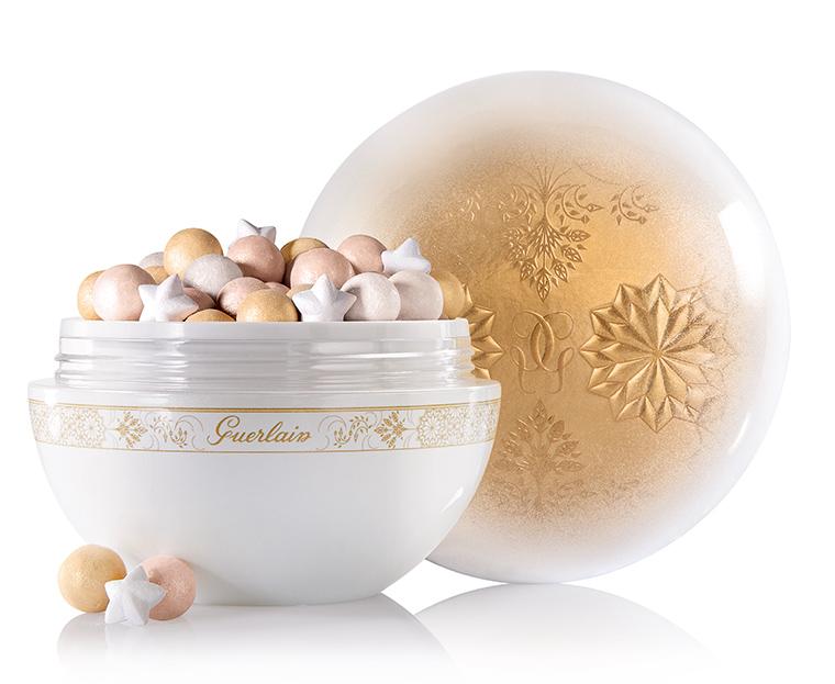 La cipria in perle e fiocchi di neve di Guerlain